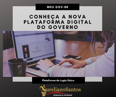 Meu gov.br - Nova Plataforma de login único