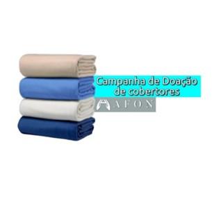 Campanha de Inverno - Doação de Cobertores e Agasalhos