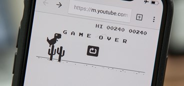 Google revela que o brasileiro é um dos que mais joga o dinossauro do Chrome
