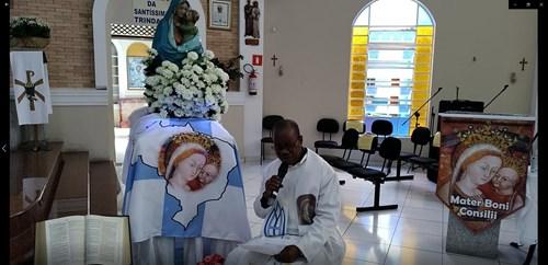 Entrevista Padre Sylvestre  -  Paróquia Nossa Senhora do Bom Conselho - Vila Prel - São Paulo - SP