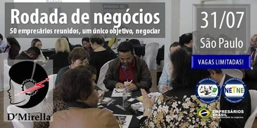 Rodada de Negócios - São Paulo - 31-07