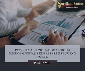 PRONAMPE - Lei nº 13.999/2020